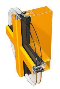 Ponzio pf 152 - Okna aluminiowe