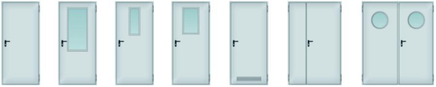wykadrowane - Drzwi stalowe