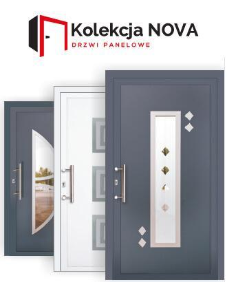 kolekcja nova - Pełna kolekcja drzwi ODTOMA
