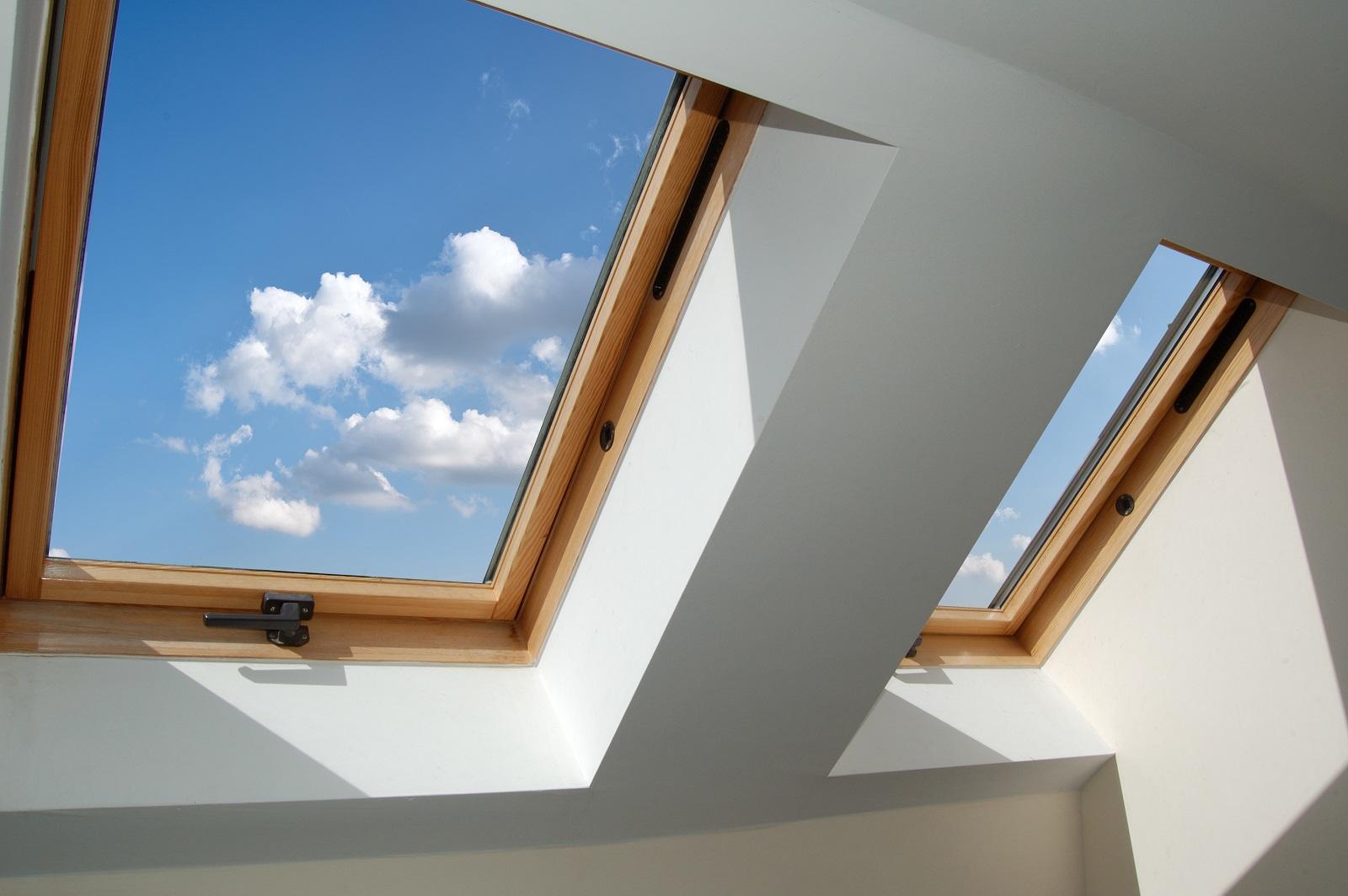 3 zalety okien dachowych